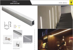 Led Aluminum Profile JVB012