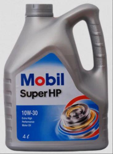 Mobil Super HP 10W-30 Petrol Engine Oil, Pack Size: 4 Liter