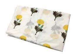 Vinayak Handicraft Print Natural Color Flower Print Indian Soft Cotton Fabric