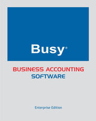 BUSY Enterprise Edition Accounting Software