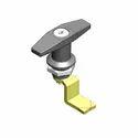 Darshana Industries Zinc Die Cast T Handle Lock With Key Black Powder Coated