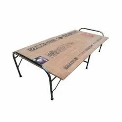 Brown Plywood Folding Bed