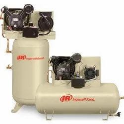 5 HP IR Two Stage Lubricated Air Compressor