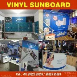 Vinyl Sun board / In-shop Branding, South India
