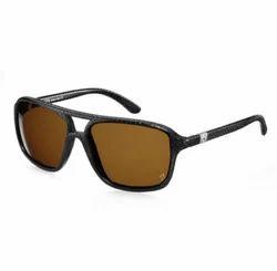 Ferrari 355 GTS Sunglasses In Perforated Black Leather