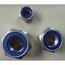 Chauhan Metal Nylock Nut, Size: M8 To M24