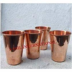 Copper Tumbler, Size: 11 X 8 Cms