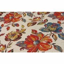 Curtain Fabric Floral Print