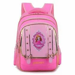 Nylon Fancy Kids School Bag
