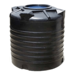 Vertical Cylindrical Black Water Tank 10000 Liters