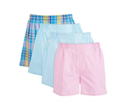 Organic Cotton Mens Strip ans Check Boxer  Shorts Exporter