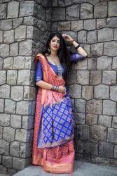 Manjubaa Patola Silk Saree
