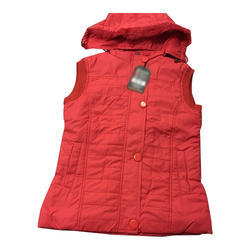 17099841d0bc0 S And XL Ladies Sleeveless Winter Jacket