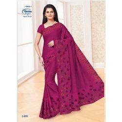 1409 Ladies Designer Cotton Saree