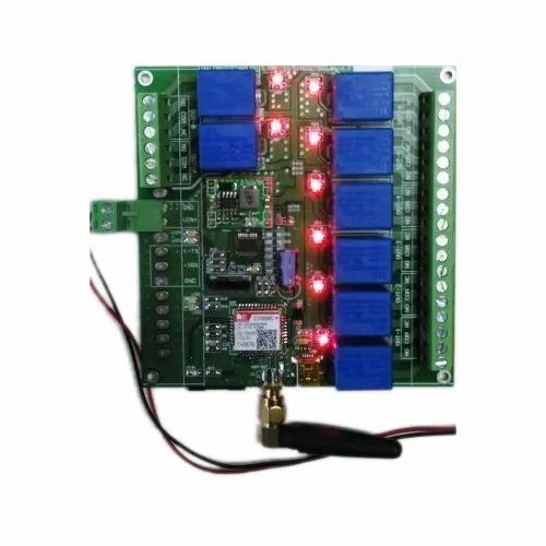 Gsm Based Relay Control