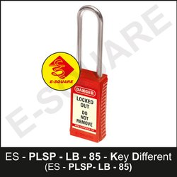 Premier Lockout Safety Padlock With 75mm Metallic Shackle