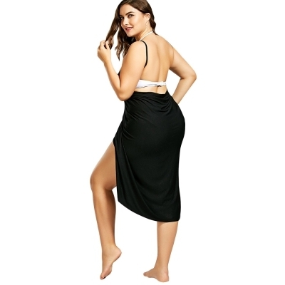 fde53201ad Plus Size Beach Cover-up Wrap Dress at Rs 1299 /piece | Wrap Dress ...