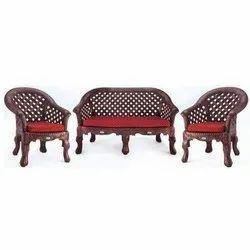 Red Modern Nilkamal Luxura Sofa Set For Home