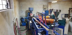 LDPE pipe making machine