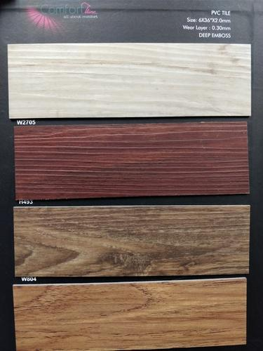 Pvc Plank Thickness 1 5 Mm Size 6 X