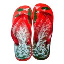 Amrit Daily Wear Kids Red Printed Slippers, Packaging Type: Carton