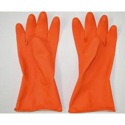 Rubber Industrial Hand Gloves