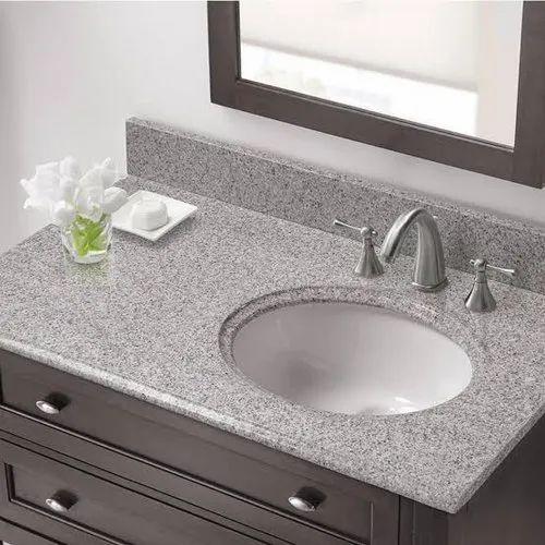 Bathroom Vanity Top At Rs 3000 Piece Bathroom Vanity Tops Marble Bathroom Countertop Bathroom Counter ब थर म क उ टरट प Stone World Makrana Id 22263656055