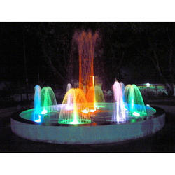 Colour Changing Sequencing Fountain