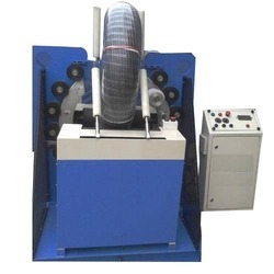 Irrigation Pipe Coil Stretch Wrapping Machine