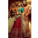 Wedding Designer Malbon Silk Lehenga