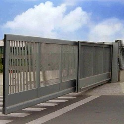 Stainless Steel Automatic Telescopic Sliding Gate