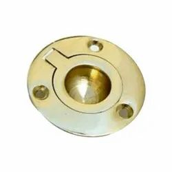 Brass Chest Handle, Size: 50mm x 38mm