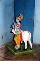 Radha Krishna Sculpture