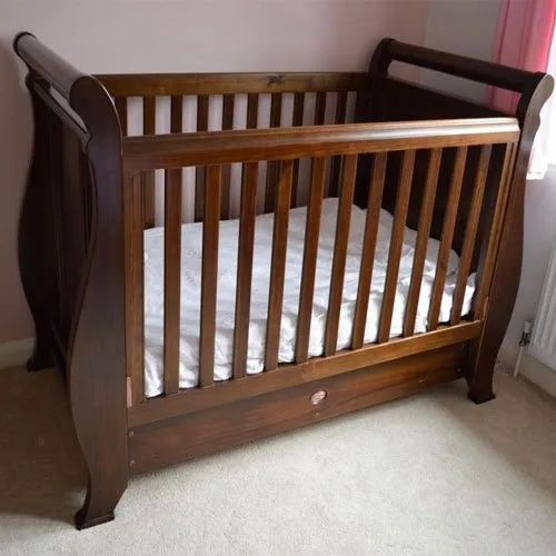 Brown Baby Wooden Cot Bed Rs 11000 Piece J K Furnitures Id