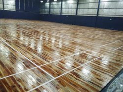 Indoor Wooden Badminton Flooring