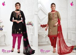 Khushika Semi Stitched Formal Ladies Suits