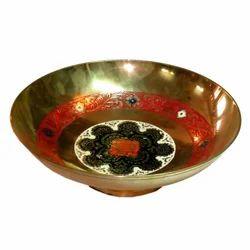 Brass Golden Round Shape Bowl