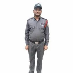 Grey Security Guard Uniform