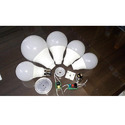 Ceramic Led Bulb Housing ( Syska Type ), Shape: Round