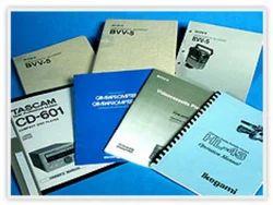 8 Page Manual Printing Service