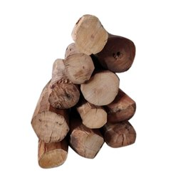 Brown Nagri Wood Logs