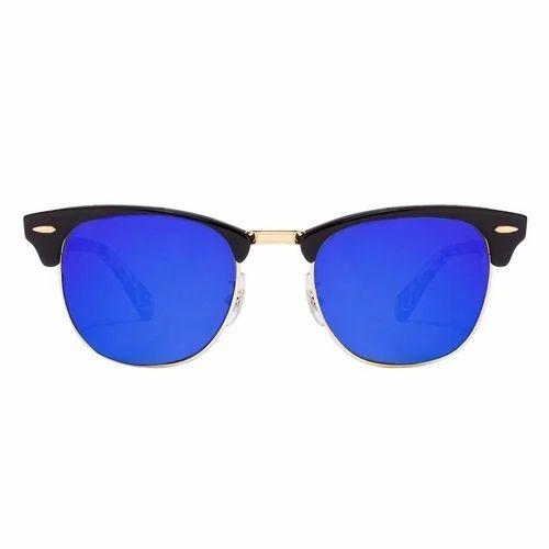 Golden Blue Club Master Sun Googles