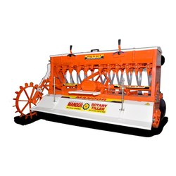 Manoor Iron Tractor Rotavator And Roto Seed Drill
