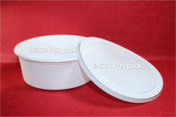 300 ml Milky White Food Packaging Container