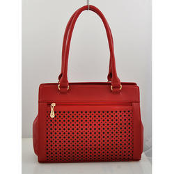 Red Dotted Ladies Bag