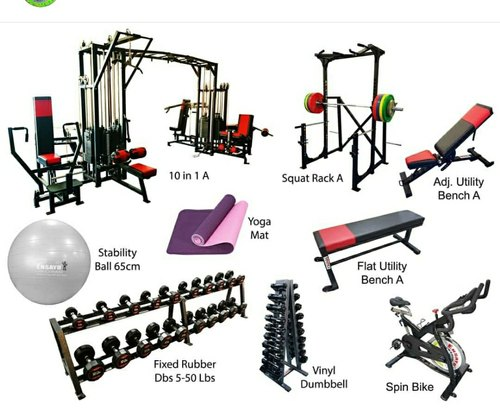 KB FIYNESS Chest Gym Equipments, Weight: 15000 Kg, Model Name/Number:  .6.65000, Rs 265000 /unit   ID: 21439886112