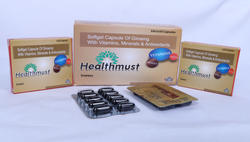 Ginseng, Multivitamin, Multi Minerals And Nutrients Capsules