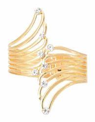 Indian Design Golden Cuff Bracelet