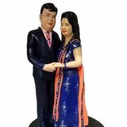 Couple Statue 3D Miniatures