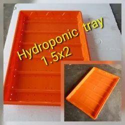 Fodder hydroponic tray